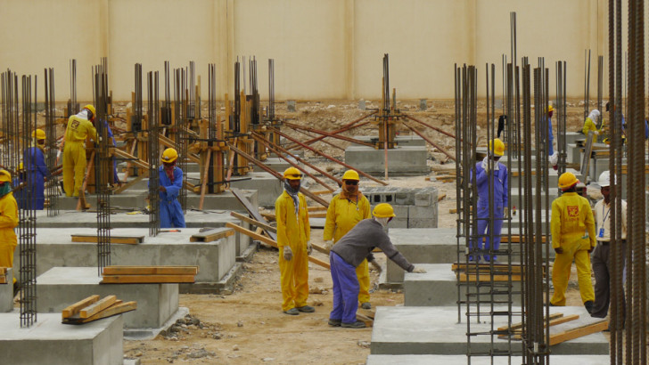 Shocking new report shows workers living 10 to a squalid room in World Cup hosts Qatar