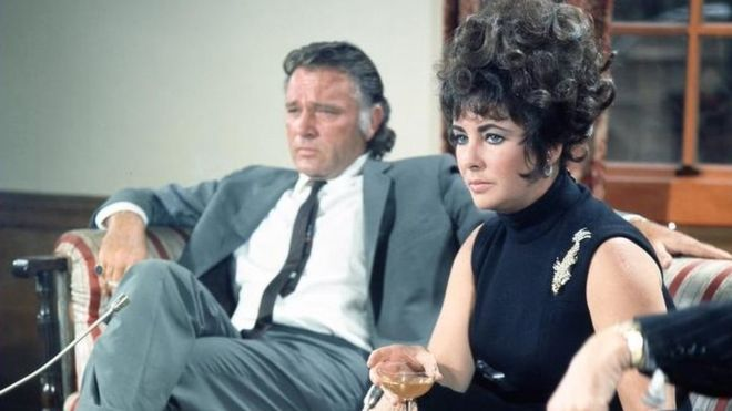 Burton and Taylor met at work, playing another working couple, Anthony and Cleopatra