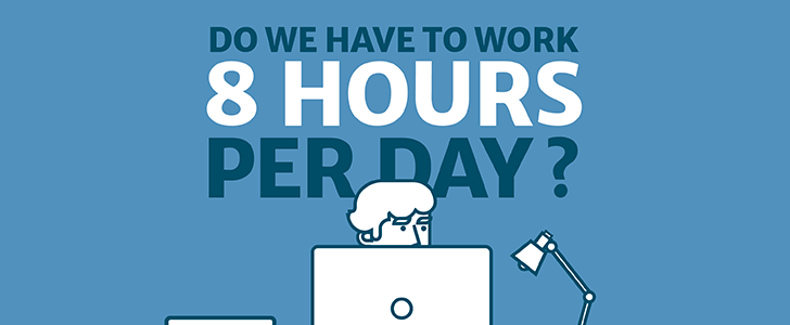 Infographic: Do we have to work 8 hours a day?