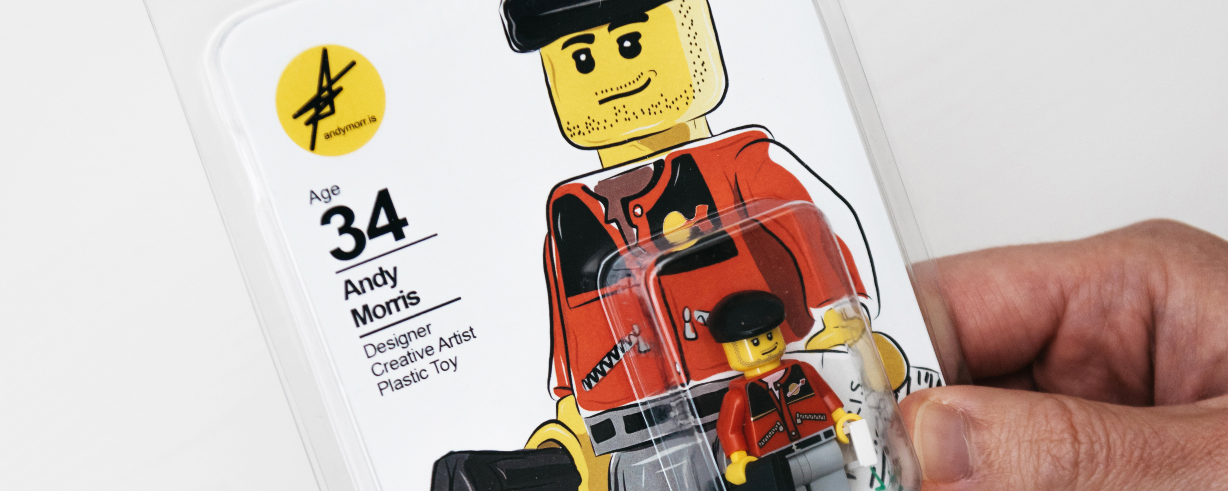 jobseeker creates own mini lego figure cv