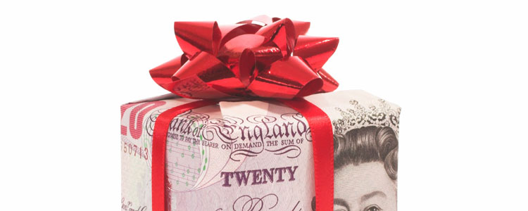 Why is December a good time to hand out staff bonuses?
