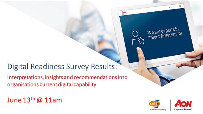 Digital Readiness in HR: Survey Results – 13/06/19