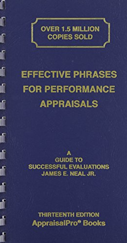 Effective Phrases for Performance Appraisals: A Guide to ...