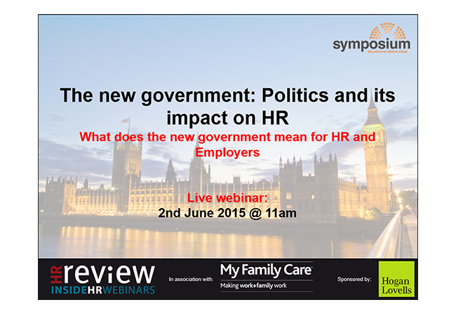 The new government: Politics and its impact on HR