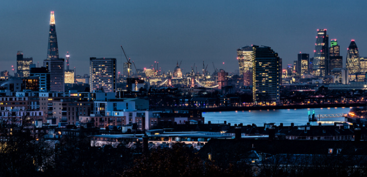 London Skyline. Image credit Davide D'Amico