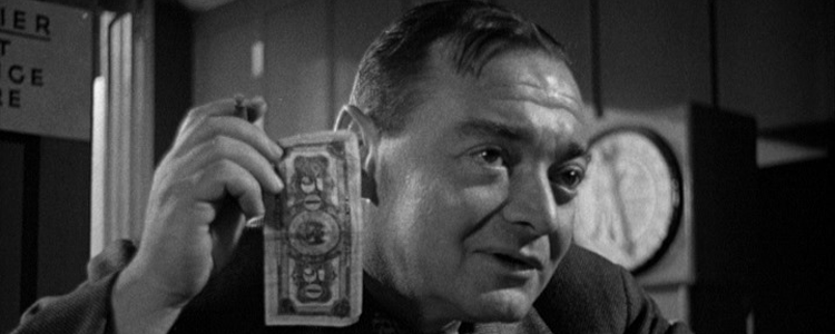 Peter Lorre playing the villain in Quicksand in 1952. Not the kind of man you would want to bring into your organisation?
