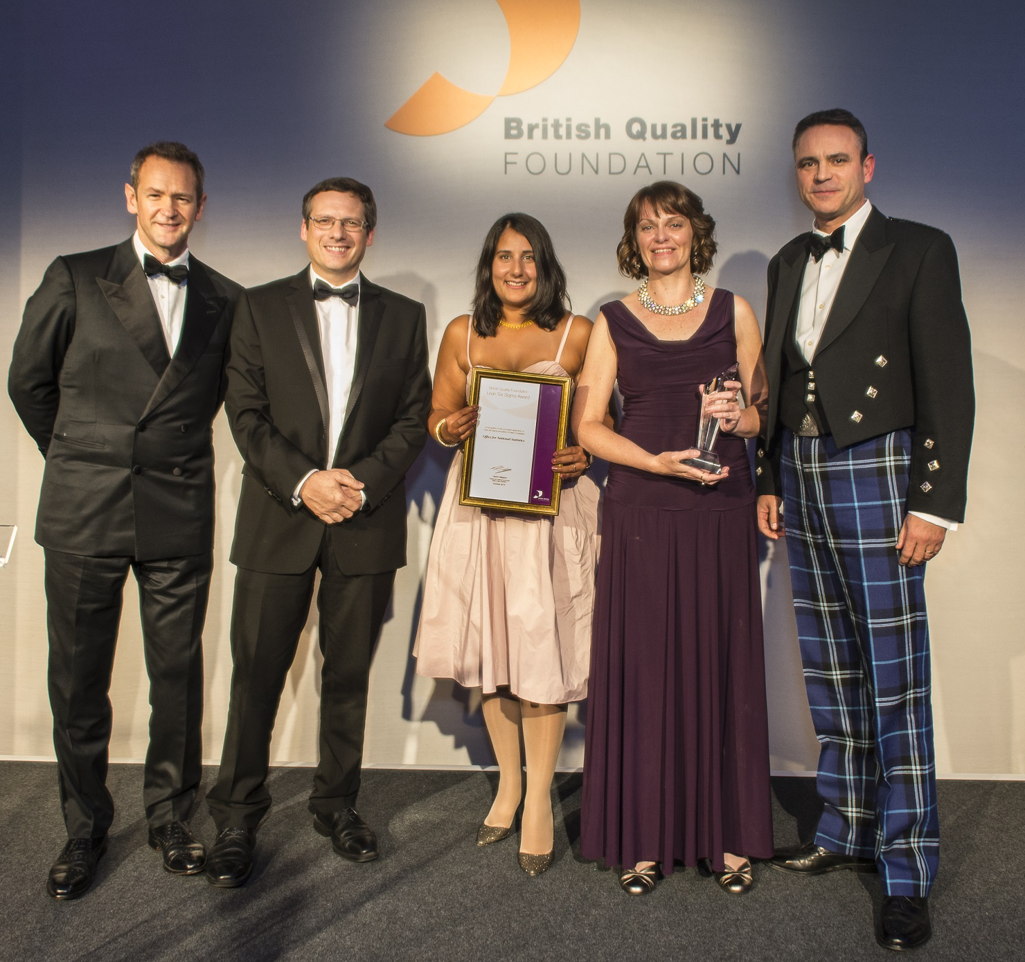 Office for National Statistics wins top UK business award