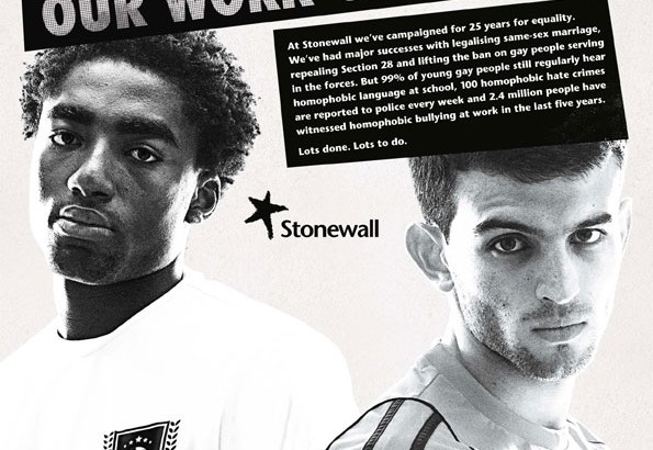 The Stonewall Top 100 gay-friendly employers
