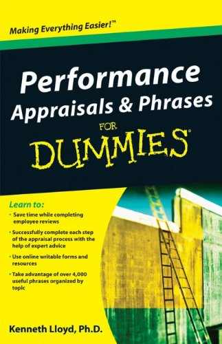 Performance Appraisals and Phrases For Dummies - HRreview