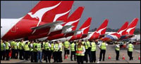 Emergency arbitration hearing as Qantas strike disrupts 13,000 travel plans
