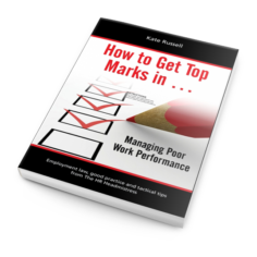 How to get top marks in ... Managing Poor Work Performance