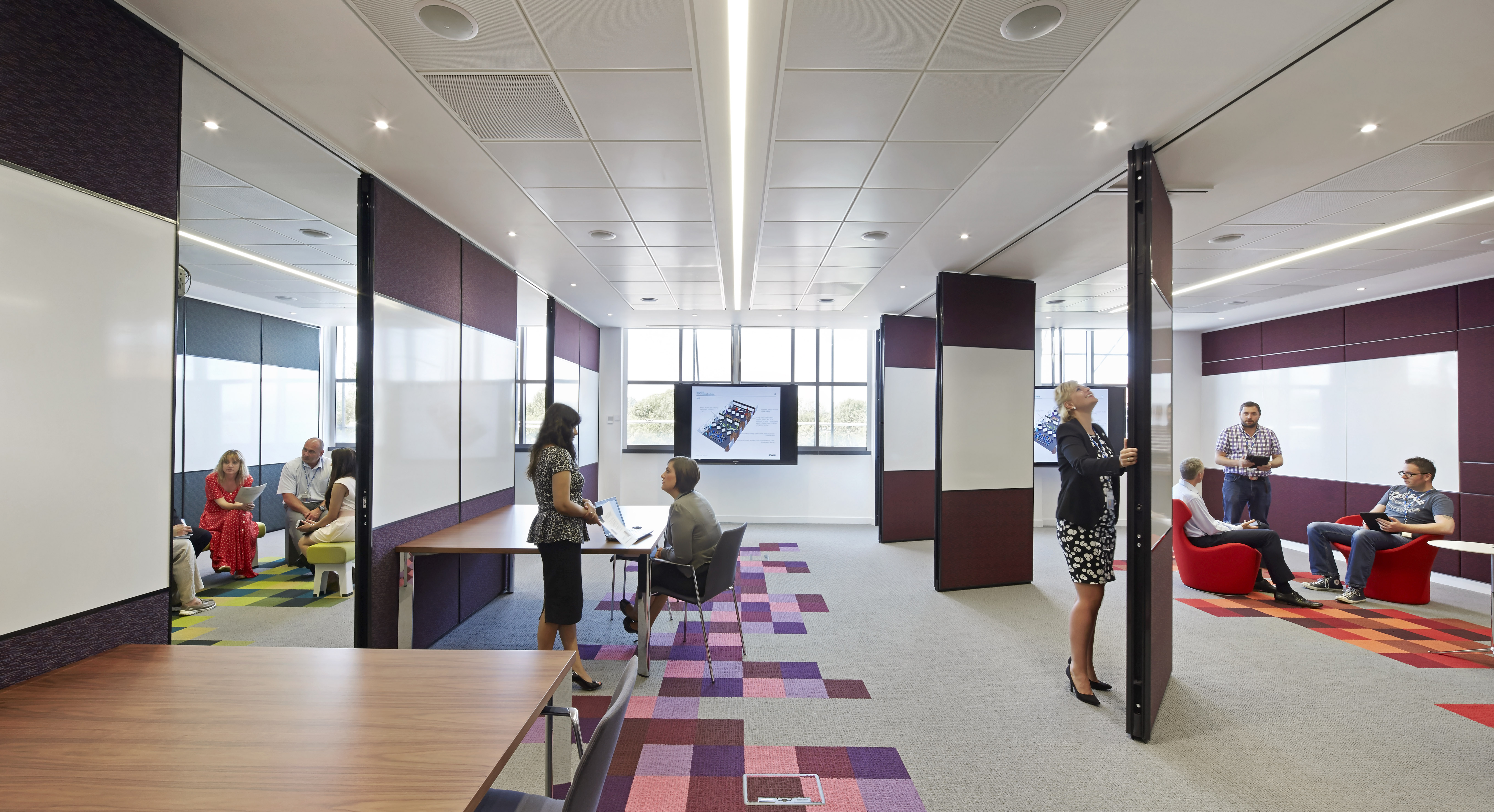 Workplace re design proven to improve employee for Office design and productivity
