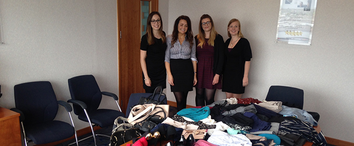 PageGroup runs nation-wide suit drive for unemployed women