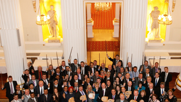 The British Safety Council launch Sword of Honour and Globe of Honour Awards