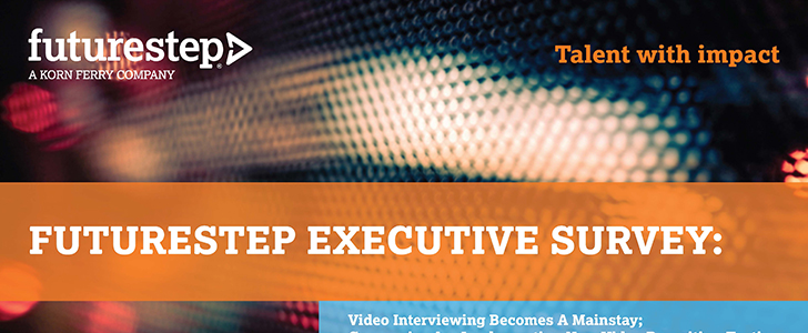 Infographic: Video interviewing becomes a mainstay