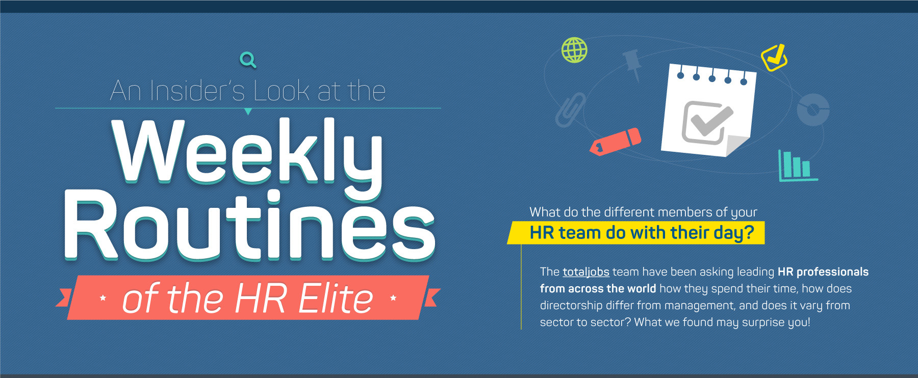 Infographic: Weekly routines of the workplace elite