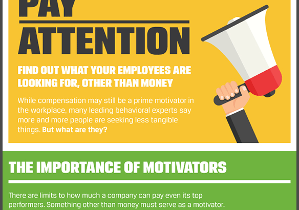 What are your employees looking for other than money? (Infographic)
