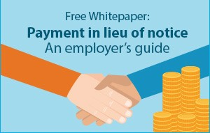 Xpert HR - Payment in Lieu