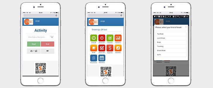 New version of SYQR APP 2.0 helps you track your Mobile Workforce wherever you are