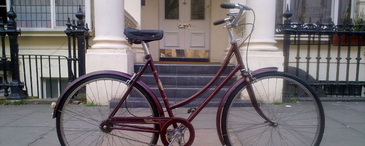 A Raleigh Cameo, one of the all time great retro bicycles
