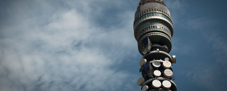 The BT Tower in London