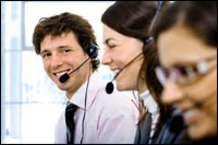 One in four call centre workers suffer voice problems