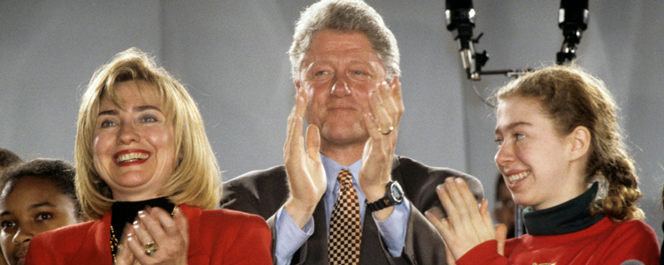 The Clintons - Sometimes its better when families stick together
