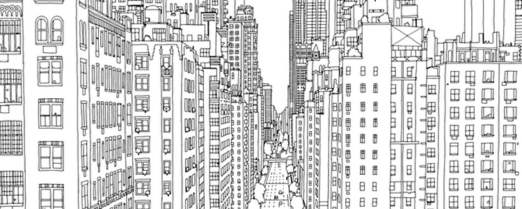 Colouring books for adults have become all the rage lately