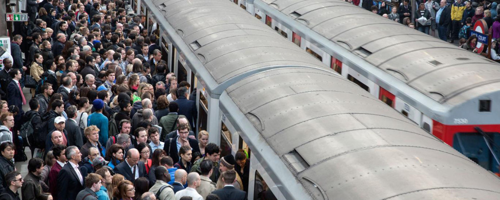 Long commutes affect employees negatively, says a recent study. c Oli Scarff/Getty Images