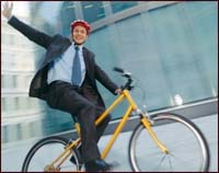 Cycling proves beneficial in all aspects of the workplace