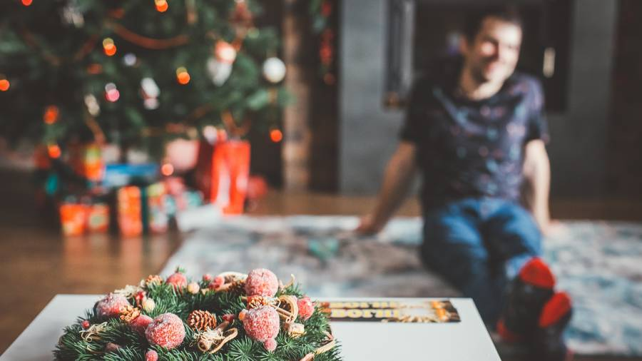 What are some alternatives to the in-person Christmas party?