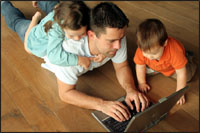 Fathers fear the social stigma of working part-time