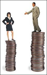 Gender pay gap 'at least £5k'