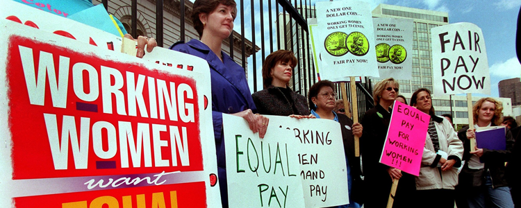 Women's battle for equal pay has been a long one, but it is finally bearing fruit