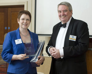 Diane Ashton-Jeanes – IIM Case Study Winner 2009 with Tom Brass – IIM Chairman