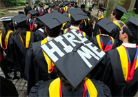 Less than 1% of graduates in unpaid internships