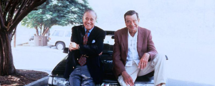 Jack Lemmon and Walter Matthau dodging retirement to keep working in The Odd Couple II