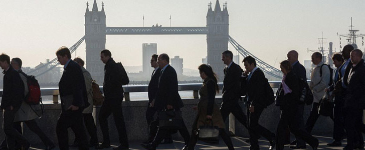 Almost a third of people take a stroll to combat stress at work