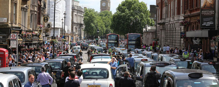 Irate cab drivers, incensed at Uber, brought London to a standstill during the summer