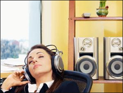 Music at work may help boost productivity'