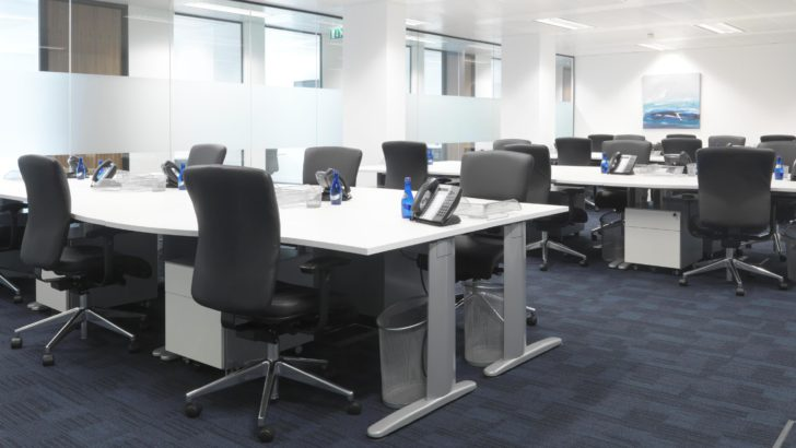UK workers least satisfied with their office environment