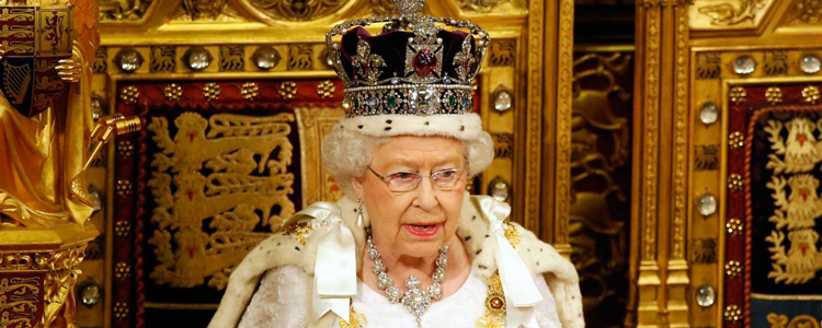 The Queen delivers her annual address to Parliament
