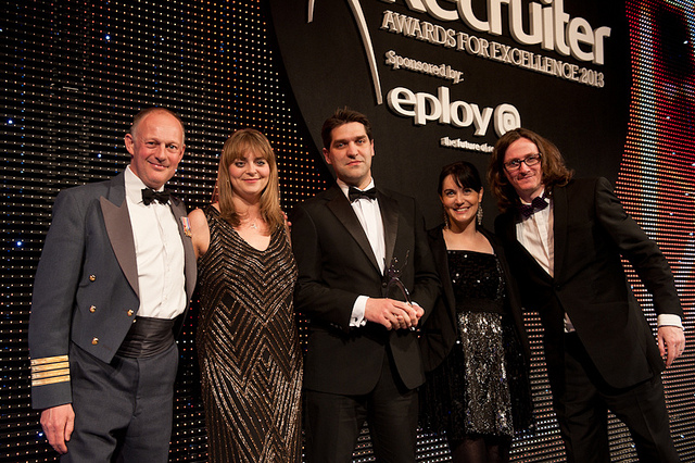 GradWeb named Outstanding Outsourced Recruitment Organisation