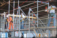 Company fined after scaffold collapse