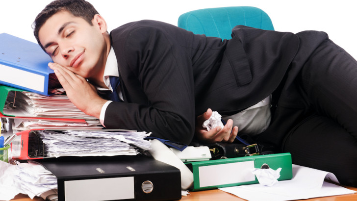 Almost half of employees admit to having nodded off at work