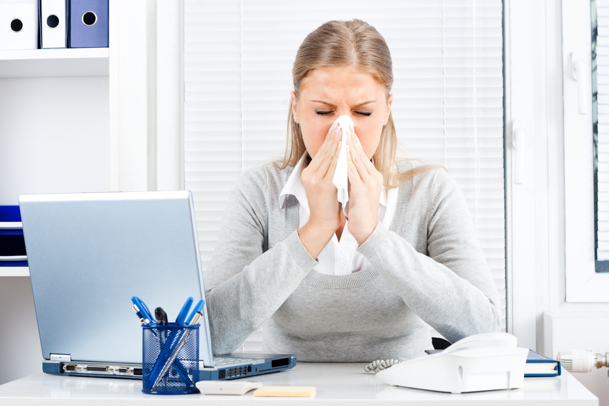 Workers in open plan offices took 70% more sick days last year than ...