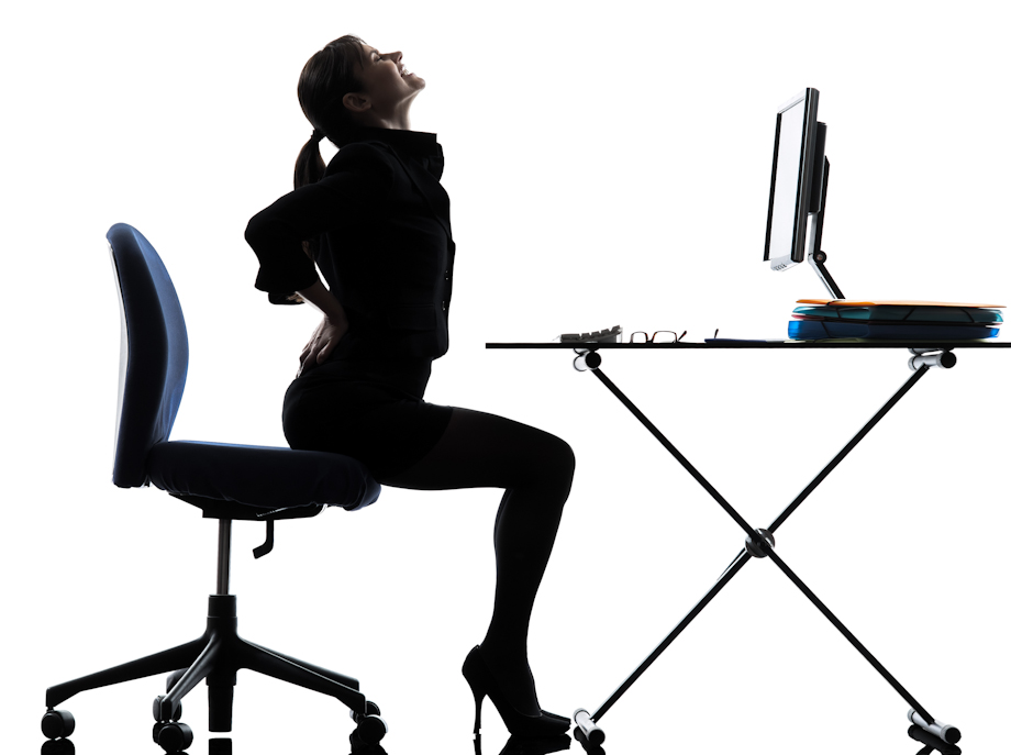 an uncomfortable office chair can lead to mental health problems