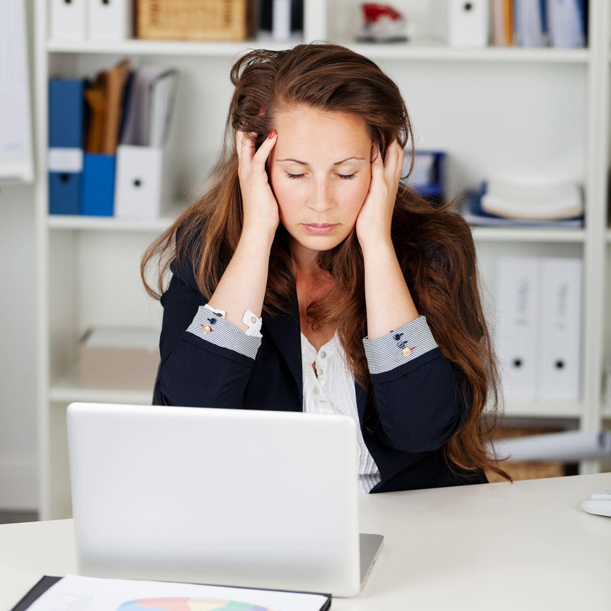 almost half of women say their gender has or will hinder their stress w