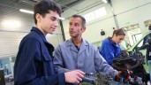 Apprenticeships and traineeships on the rise
