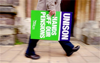 Largest strike looming over pensions reforms